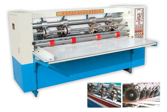 BFY Series Thin Knife Paper-partitioning and Creasing Machine