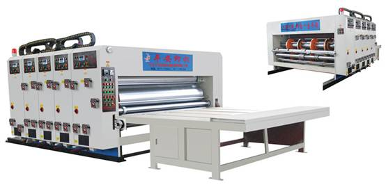 SYK4260 / 4680 / 5260 / 6050 / 7150 WATER INK MULTI-COLOR PRINTING & SLOTTING MACHINE